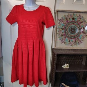 Lularoe All red dress